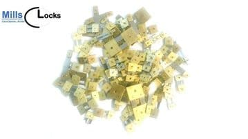 100x English, French, German  Mantle/Wall Clock Suspension Mix, Repair, (100s)